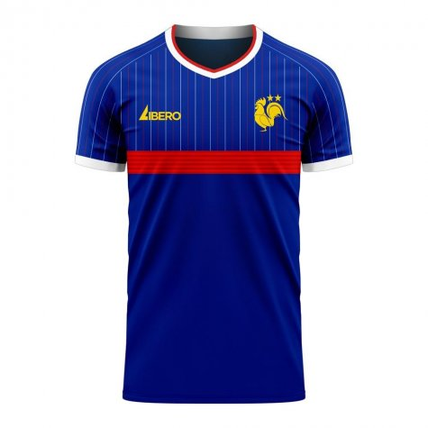 France 2020-2021 Home Concept Football Kit (Libero)