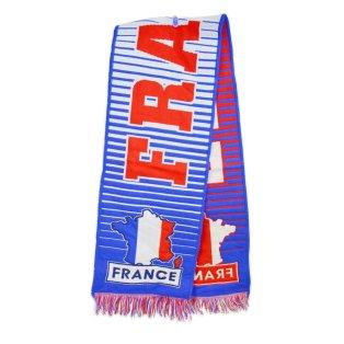 France Fan Scarf (Blue)