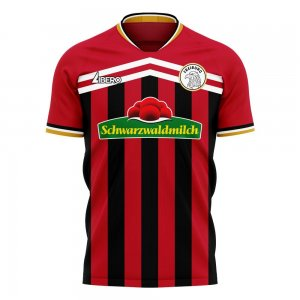 Freiburg 2020-2021 Home Concept Football Kit (Libero) - Kids