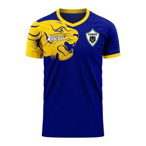 Gabon 2020-2021 Away Concept Football Kit (Libero)