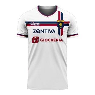 Genoa 2020-2021 Away Concept Football Kit (Airo)
