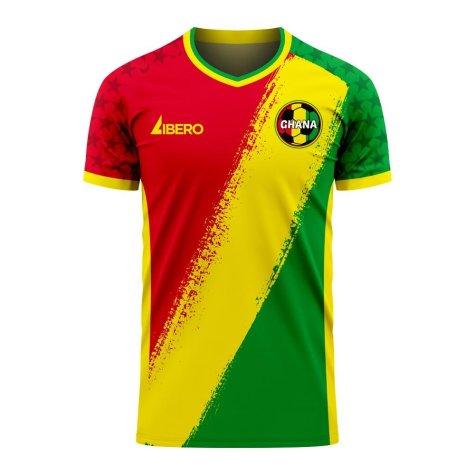 Ghana 2020-2021 Away Concept Football Kit (Libero)