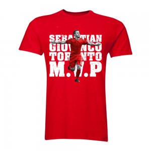Sebastian Giovinco Toronto M.V.P T-Shirt (Red)