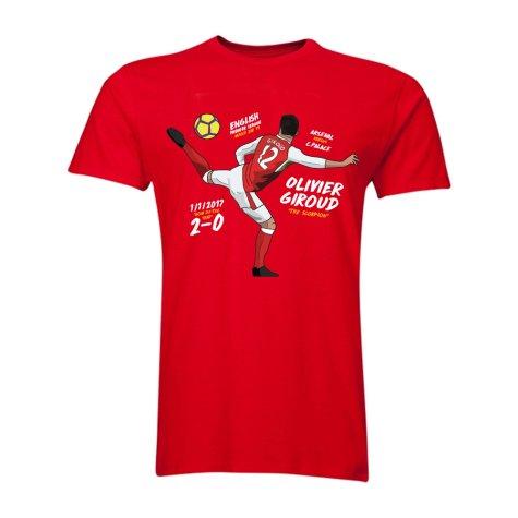 Olivier Giroud The Scorpion T-Shirt (Red)