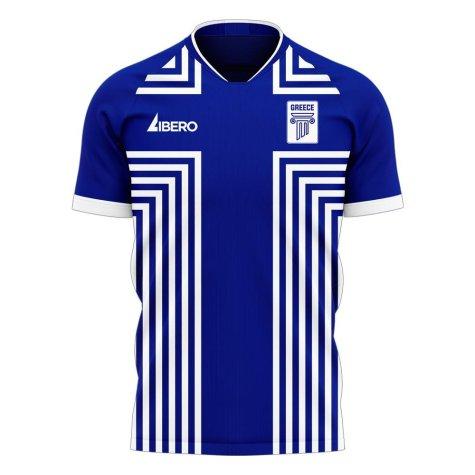 Greece 2020-2021 Away Concept Football Kit (Libero) - Baby