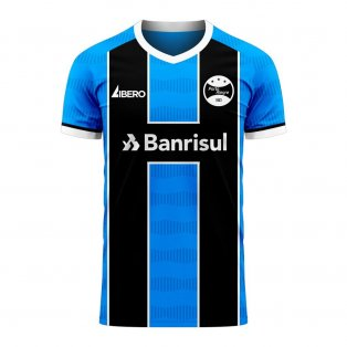 Gremio 2020-2021 Home Concept Football Kit (Libero) - Little Boys