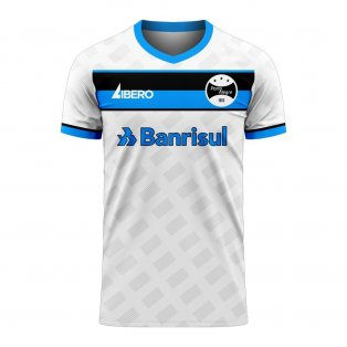 Gremio 2020-2021 Away Concept Football Kit (Libero) - Kids