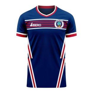 Guam 2020-2021 Home Concept Football Kit (Libero) - Womens