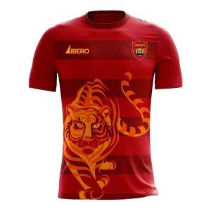 Guangzhou 2020-2021 Home Concept Football Kit (Libero) - Kids