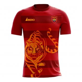 Guangzhou 2020-2021 Home Concept Football Kit (Libero)