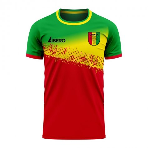 Guinea 2020-2021 Home Concept Football Kit (Libero) - Kids