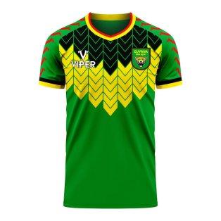 Guyana 2020-2021 Away Concept Football Kit (Viper)