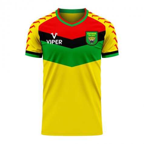 Guyana 2020-2021 Home Concept Football Kit (Viper) - Kids