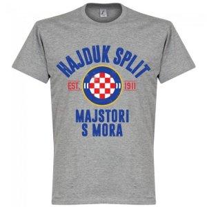 Hajduk Split Established T-Shirt - Grey