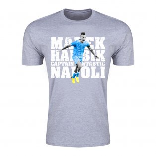 Marek Hamsik Captain Fantastic T-Shirt (Grey)