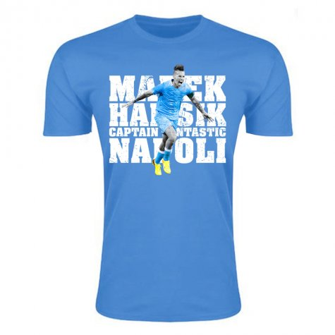 Marek Hamsik Captain Fantastic T-Shirt (Sky Blue) - Kids