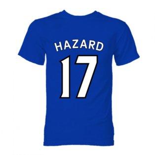 Eden Hazard Chelsea Hero T-Shirt (Blue)