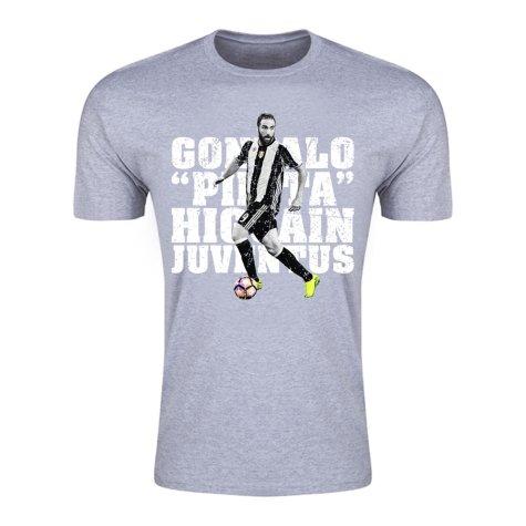 Gonzalo Higuain Juventus T-Shirt (Grey) - Kids