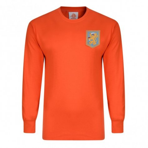 Score Draw Holland 1968 Home Long Sleeve Shirt