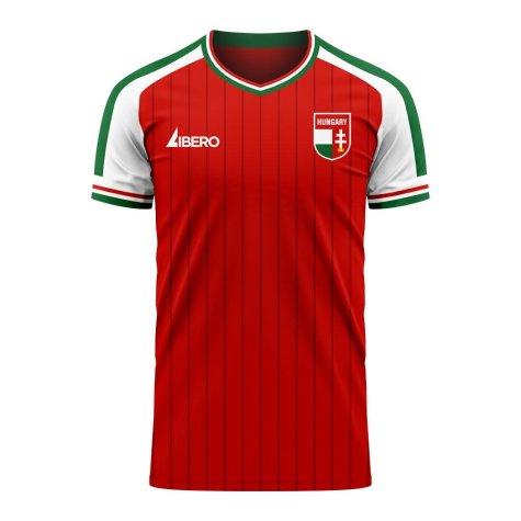 Hungary 2020-2021 Home Concept Football Kit (Libero)