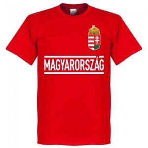 Hungary Team Football T-Shirt - Red