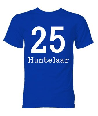 Klaas Jan Huntelaar Schalke Hero T-Shirt (Blue)
