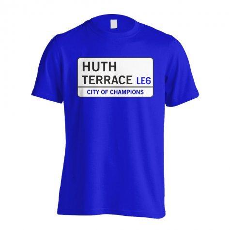 Huth Terrace - Leicester Street T-Shirt (Blue) - Kids