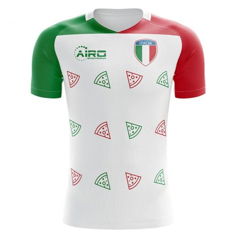 Italy 2020-2021 Pizza Concept Football Kit (Airo) - Womens