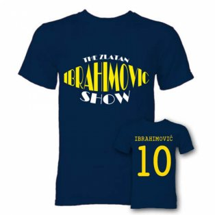 The Zlatan Ibrahimovic Show Hero T-Shirt (Navy)