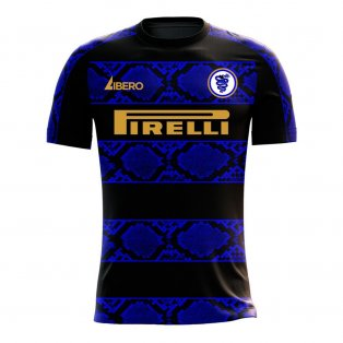 Nerazzurri Milan 2020-2021 Home Concept Football Kit (Libero)