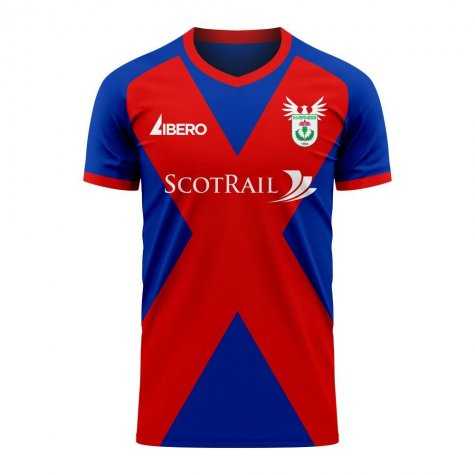 Inverness 2020-2021 Home Concept Football Kit (Libero) - Baby