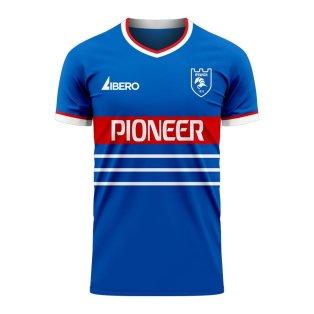 Ipswich 2020-2021 Home Concept Football Kit (Libero) - Womens
