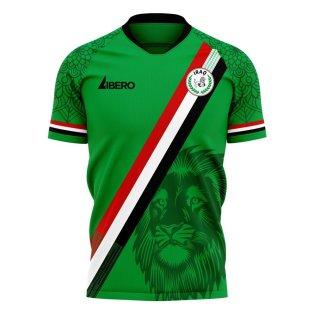 Iraq 2020-2021 Home Concept Football Kit (Libero)
