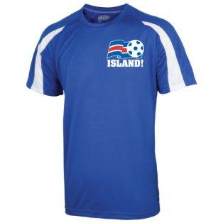2016-17 Iceland Sports Training Jersey