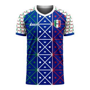 Italy 2020-2021 Renaissance Home Concept Football Kit (Libero)