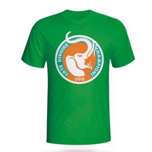 Ivory Coast 2015 African Nation Winners Tee (green)