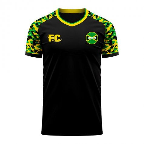 Jamaica 2020-2021 Away Concept Football Kit (Fans Culture) - Womens