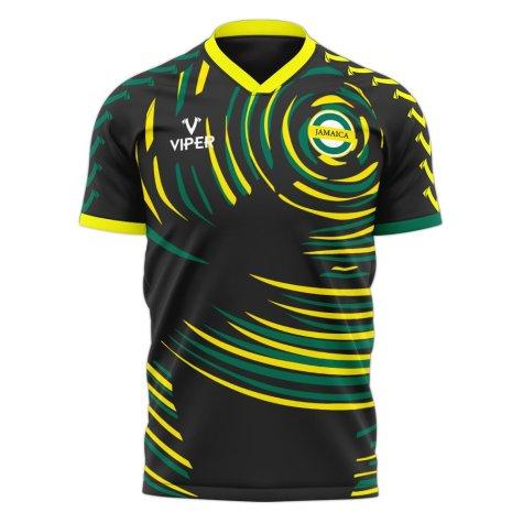 Jamaica 2020-2021 Away Concept Football Kit (Viper) - Baby