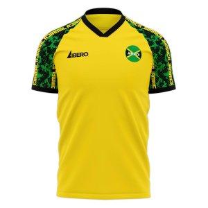 Jamaica 2020-2021 Home Concept Football Kit (Libero)