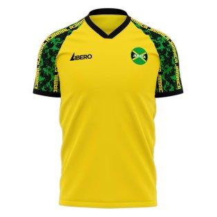 Jamaica 2020-2021 Home Concept Football Kit (Libero) - Little Boys