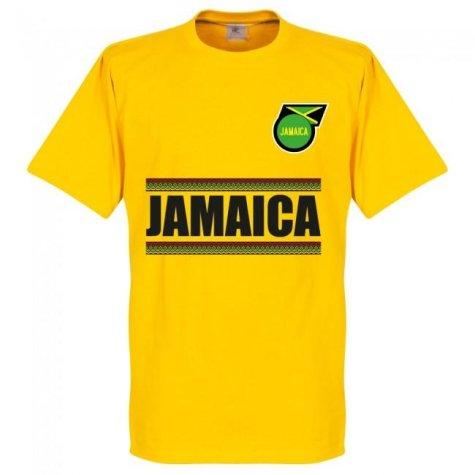 Jamaica Team T-Shirt - Yellow