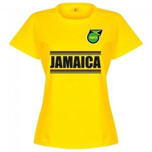 Jamaica Team Womens T-Shirt - Yellow
