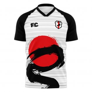 Japan 2021-2022 Away Concept Football Kit (Fans Culture)