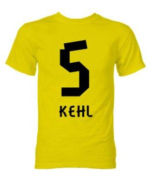 Sebastian Kehl Borussia Dortmund Hero T-Shirt (Yellow)
