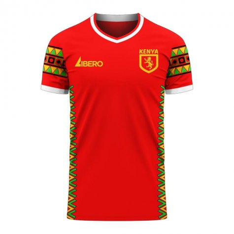 Kenya 2020-2021 Home Concept Football Kit (Libero) - Baby