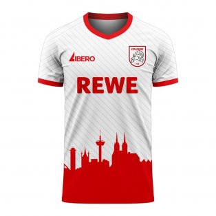 Koln 2020-2021 Home Concept Football Kit (Libero)