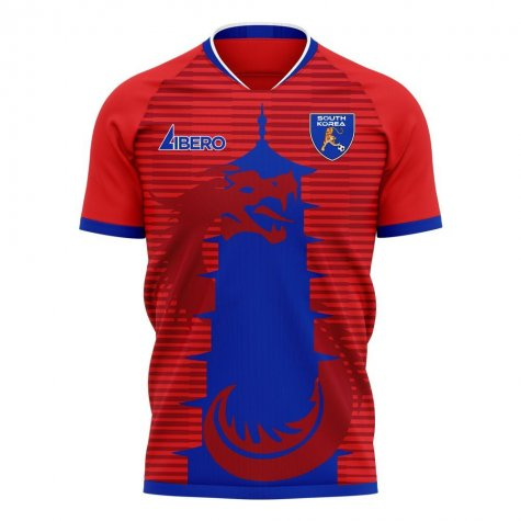 South Korea 2020-2021 Home Concept Football Kit (Libero) - Baby