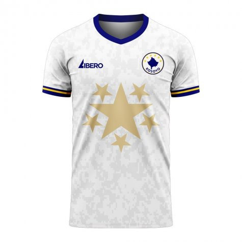 Kosovo 2020-2021 Away Concept Football Kit (Libero)