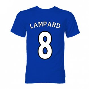 Frank Lampard Chelsea Hero T-Shirt (Blue)