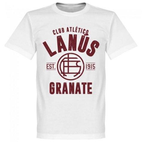 Lanus Established T-Shirt - White